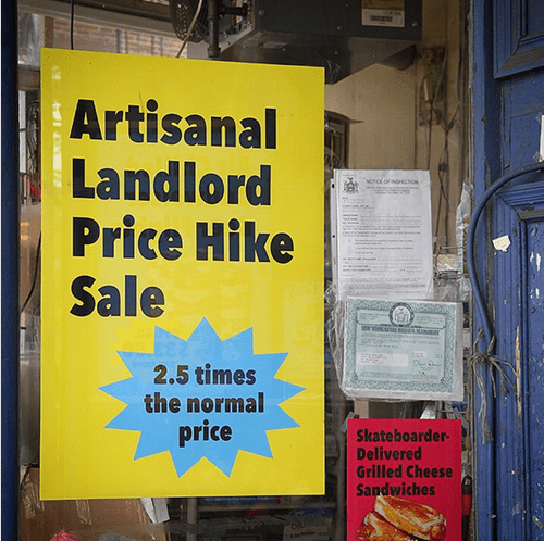 A Furious Brooklyn Deli Owner Counters Rent Increase with Hipster Pricing