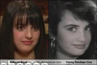 Rebecca Black Totally Looks Like Young Penelope Cruz