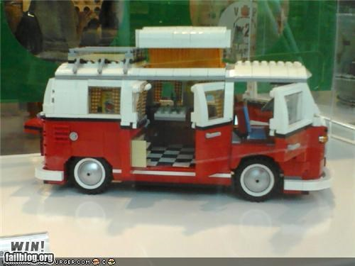 Lego VW Bus WIN!