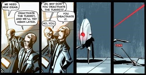 Portal 2 Comic of the Day