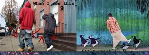 Hall of Fame,mary poppins,penguins,saggy pants