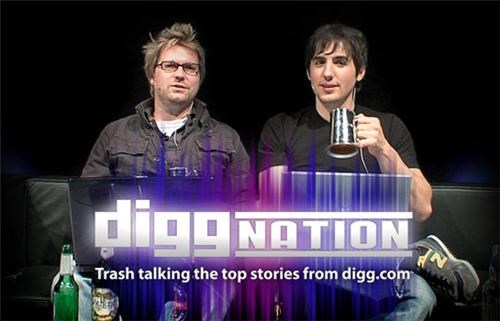 Diggnation Shutdown of the Day