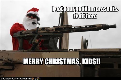 Disgruntled Santa is Disgruntled