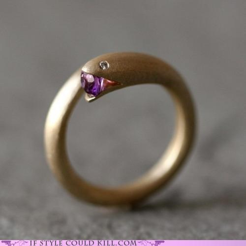 Ring of the Day: Quite a Mouthful