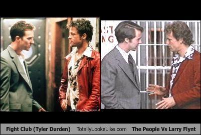 "TLL Classics: ""Fight Club"" Scene Totally Looks Like ""The People Vs Larry Flynt"" Scene"