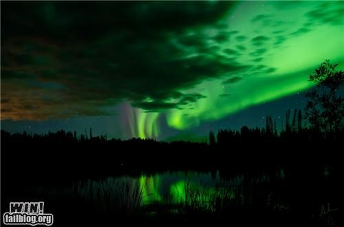 Mother Nature FTW: Aurora