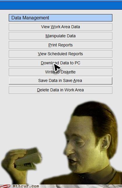 download,managing data,save,Star Trek