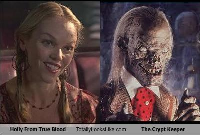 "Holly From ""True Blood"" Totally Looks Like The Crypt Keeper"