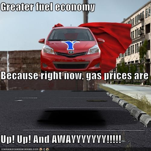 Greater fuel economy
