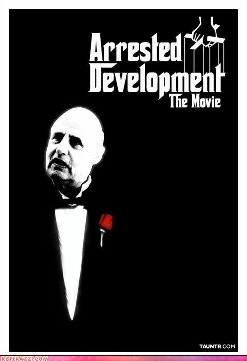 arrested development,fake,funny,Hall of Fame,Movie,poster,shoop
