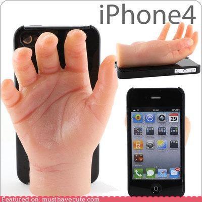 around the interwebs,creepy,halloween,hands,iphone