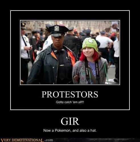 GIR,hilarious,invade zim,Pokémon,protestor