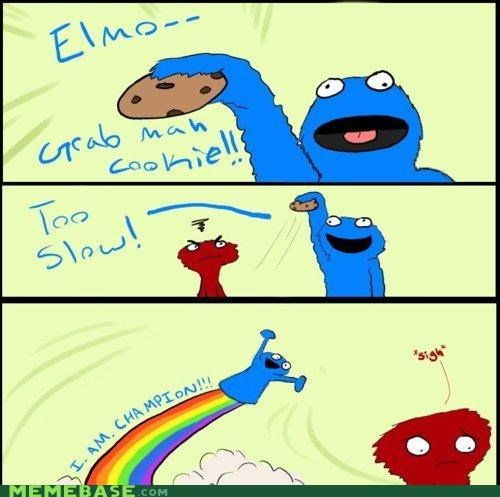 He's Too Good Enough for You, Elmo