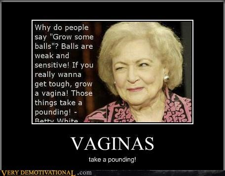 betty white,Hall of Fame,hilarious,lady parts,quote,testes