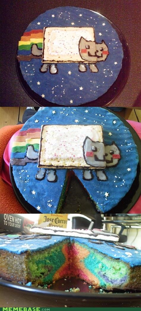 cake,frosting,halloween,meme,Nyan Cat,pop tart