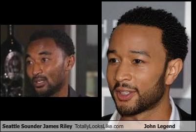 Seattle Sounder James Riley Totally Looks Like John Legend