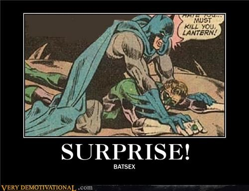 No One Expects the Batsex