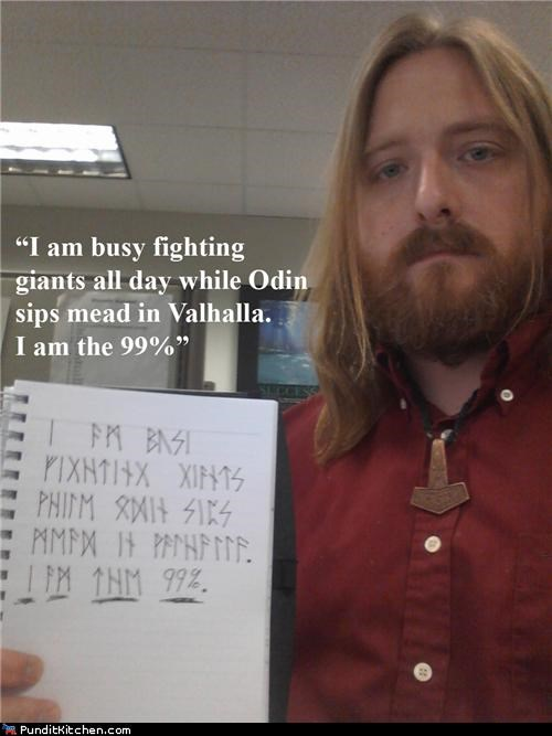 metal,norse,Occupy Wall Street,political pictures
