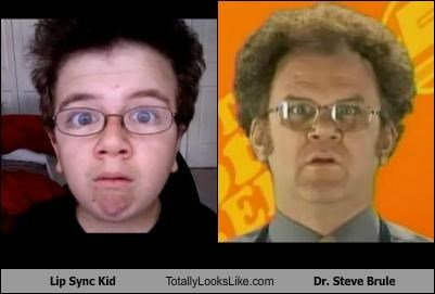 Lip Sync Kid Totally Looks Like Dr. Steve Brule (John C. Reilly)