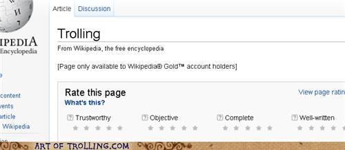 If You Have to Consult Wikipedia...