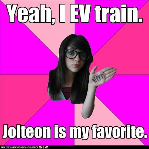 best of week,eevee,EV train,jolteon,Memes,sun stone,thunder stone
