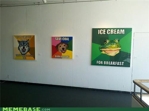 blocks,breakfast,coal,ice cream,IRL,Memes,paintings,what
