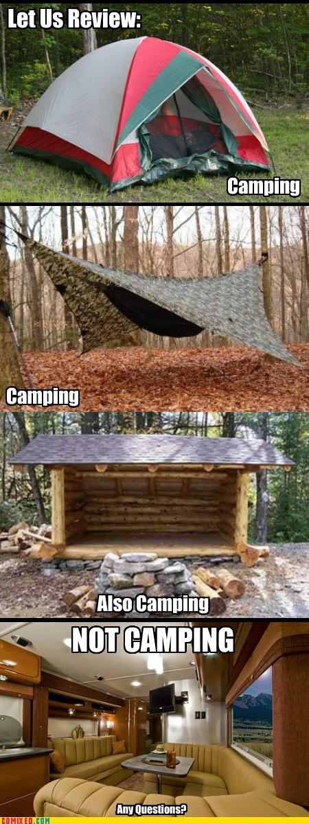 A Lesson in Camping