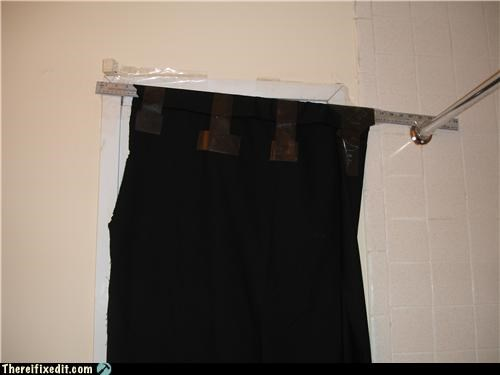 For Halloween, This Curtain Is Dressing Up Like a Piece of Junk