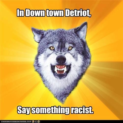 Racism Detroit