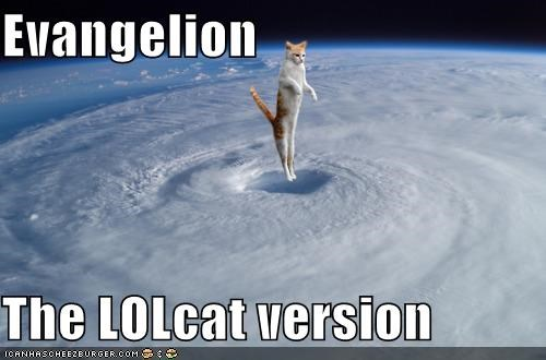 Evangelion  The LOLcat version