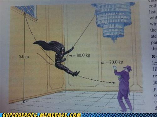 batman,joker,math,Random Heroics,swinging