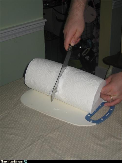 bathroom,dual use,frugal,paper towel,toilet paper