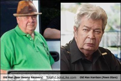 Bear Swamp Recovery) Totally Looks Like Old Man Harrison (Pawn Stars
