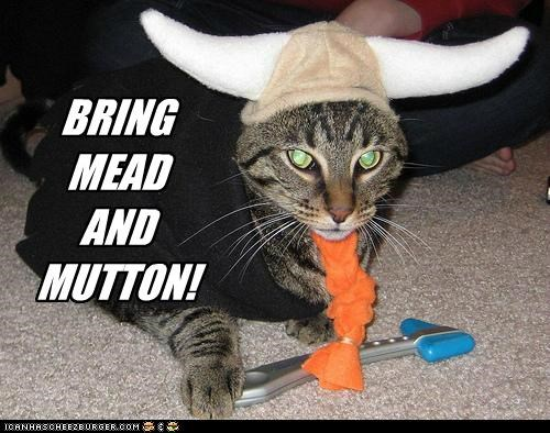 BRING  MEAD AND MUTTON!