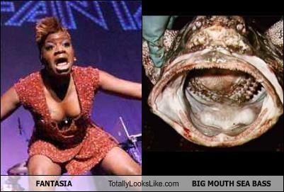 Fantasia Totally Looks Like A Big Mouth Sea Bass