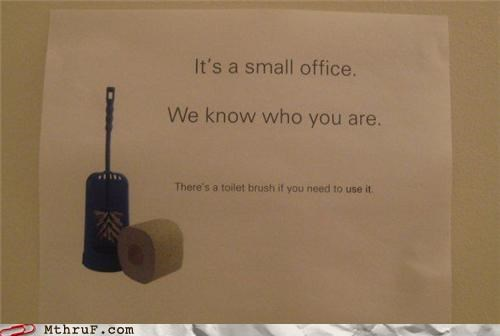 The Office Is Watching You(r) Poop