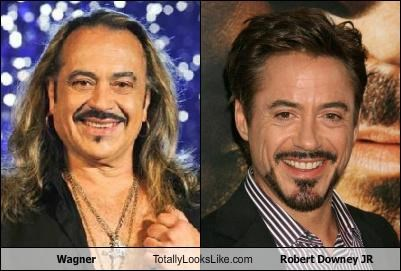 Wagner Totally Looks Like Robert Downey JR