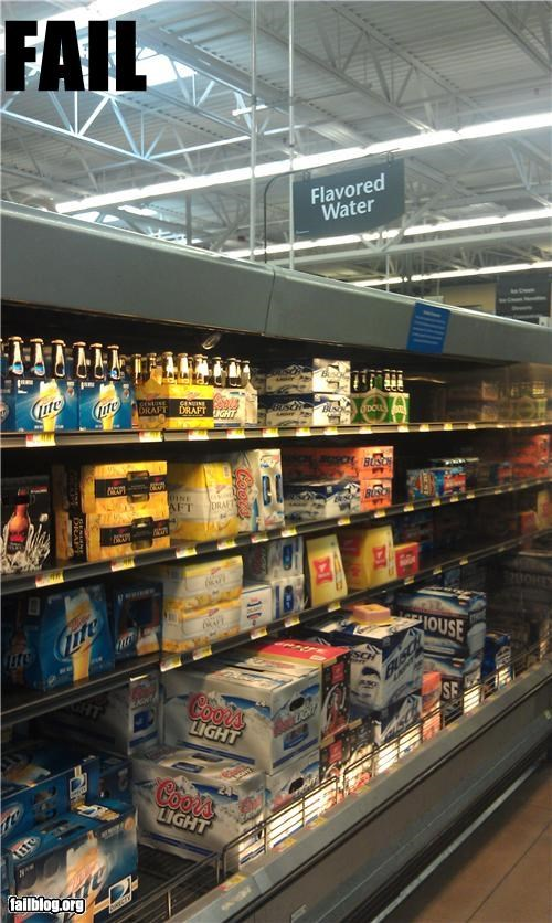 Beer Aisle FAIL