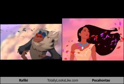 Rafiki Totally Looks Like Pocahontas