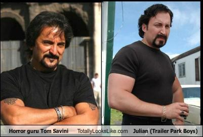 Horror Guru Tom Savini Totally Looks Like Julian (Trailer Park Boys)