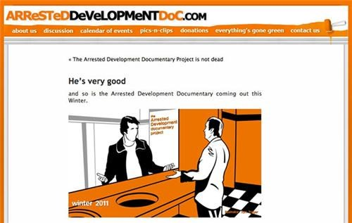Arrested Development Documentary of the Day