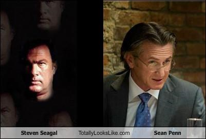 Steven Seagal Totally Looks Like Sean Penn