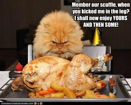 *REVENGE IS JUICY, YUMMY AND FULL OF TRYPTOPHAN!*