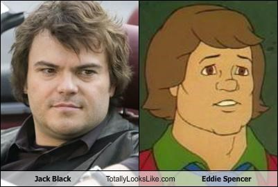 Jack Black Totally Looks Like Eddie Spencer