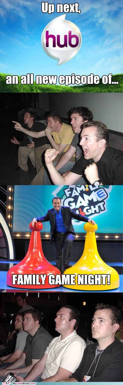 comics,comix,episode 3,family game night,reaction guys,season 2,the hub,TV