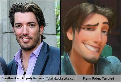 Jonathan Scott, Property Brothers Totally Looks Like Flynn Rider, Tangled