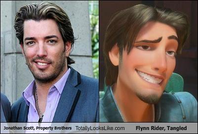 Jonathan Scott, Property Brothers Totally Looks Like Flynn Rider, Tangled