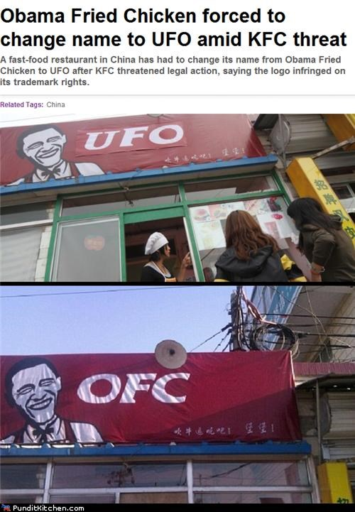 barack obama,China,Kentucky Fried Chicken,political pictures