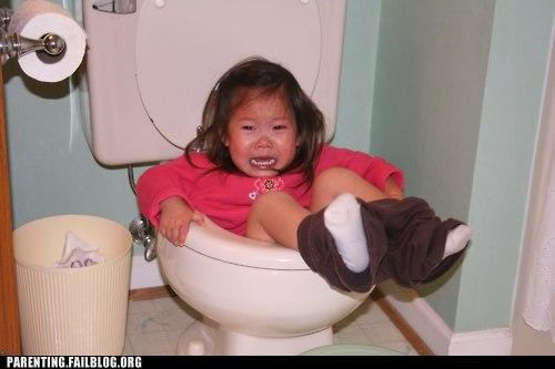 accident,bathroom,fall,kid,Parenting Fail,potty training,toilet,whoops