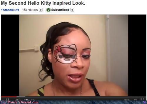 face paint,facepaint,hello kitty,youtube
